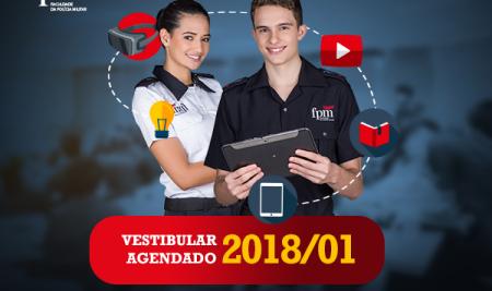 FPM abre inscrições para o Vestibular Agendado 2018/1